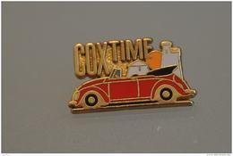 REF M1  : Pin's Pin  : Theme Automobile Volkswagen Cox Time - Volkswagen