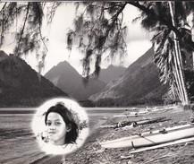 PHOTO  MONTAGE--POLYNESIE Souvenir D'escale à TAHITI ?--porte-avions FOCH Ou CLEMENCEAU ( Année 1966-68 ? )-voir 2 Scans - Polynésie Française
