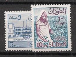 Soudan - 1962 - N°Yv. 144a à 145a - Sans Filigrane - Neuf Luxe ** / MNH / Postfrisch - Soudan (1954-...)
