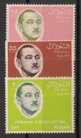 Soudan - 1966 - N°Yv. 183 à 185 - Mubarak Zaroug - Neuf Luxe ** / MNH / Postfrisch - Soudan (1954-...)