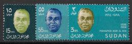 Soudan - 1968 - N°Yv. 210 à 212 - Nur El Din - Neuf Luxe ** / MNH / Postfrisch - Soudan (1954-...)