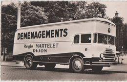 CPSM 21 DIJON Camion Fourgon De 40 M3 De La Société De Transport Régis MARTINET 1 Et 3 Rue Du Pressoir - Dijon