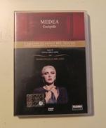 DVD MEDEA, EURIPIDE. MARIANGELA MELATO (USATO, NON CONTIENE OPUSCOLO) - Classici