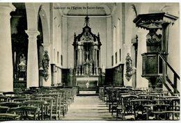 Saint-Denis Bovesse , Intérieur De L'église , Circulé En 1922 - La Bruyère