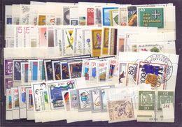 Berlin 70er/80er Jahre Ca. 60 Marken Als Eckrand Mit Formnummer ** Oder O (376) - Used Stamps