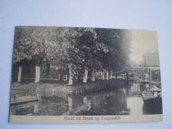 Broek Op Langendijk // Groet Uit (ander Zicht In Dorp) Gelopen 190? - Nederland