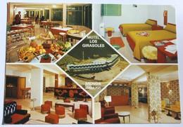 CPM MERIDA Badajoz Motel Los Girasoles Carte Décoration Vintage Années 70 - Mérida