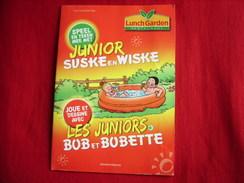 Bd Publicitaire - Willy Vandersteen - Bob Et Bobette - Suske En Wiske - Mini-album - Lunch Garden - Bob Et Bobette