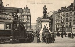 PARIS STATUE D'ETIENNE DOLET - Arrondissement: 05