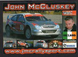 Carte Rallye Cross John Mc Cluskey Sur Citroën Xsara WRC / Rallycross Championship - Rallyes