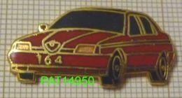 ALFA ROMEO  164 ROUGE En Version EGF - Alfa Romeo