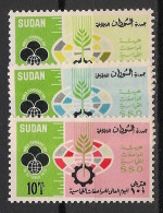 Soudan - 1972 - N°Yv. 245 à 247 - Standardisation - Neuf Luxe ** / MNH / Postfrisch - Soudan (1954-...)