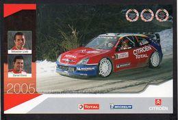 World Rally Championship 2005 / Citroen Xsara WRC / Sebastien Loeb Et Daniel Elena ( Voir Verso ) - Rally Racing
