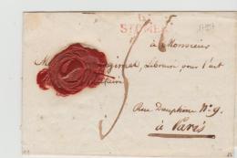 FP193  FRANKREICH - / St. Omer 1813 Nach Paris - Poststempel (Briefe)