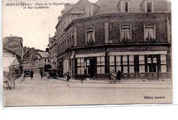 Eure : Bernau : Café De Rouen - Bernay