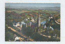 Chateauneuf-du-Faou (29) :Vue Aérienne Générale Sur La Chapelle ND-des-Portes En 1960 GF. - Châteauneuf-du-Faou