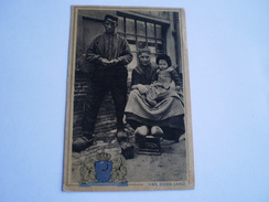 Veluwe // Op De Veluwe - Onbekend Waar - Heidehut // Gelopen 1941 - Nederland