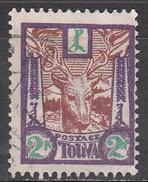 TANNU TUVA     SCOTT NO. 16   USED   YEAR  1927 - Tuva