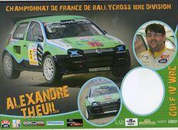 Championnat De France De Rallycross / Alexandre Theuil Sur Golf IV WRC - Rallyes
