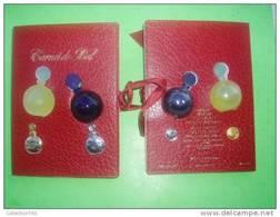 WORTH - CARNET DE BAL - 2 Miniatures + 2 Pin's - Miniatures Modernes (à Partir De 1961)