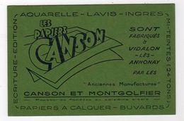 Oct17  79529      Petit Buvard   Canson  Vidalon Les Annonay - Stationeries (flat Articles)