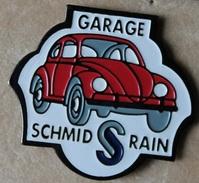 VOITURE - CAR - VW - COCCINELLE ROUGE - GARAGE SCHMID - RAIN -         (18) - Volkswagen