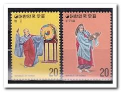 Zuid Korea 1975, Postfris MNH, Folk Dances - Korea (Zuid)