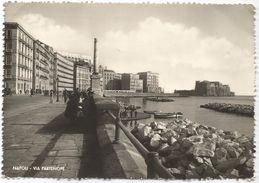 X59 Napoli - Via Partenope - Panorama Del Lungomare / Viaggiata 1950 - Napoli