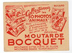 Oct17  79515     Petit Buvard  Moutarde Bocquet  Dijon - Mostard