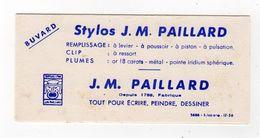 Oct17  79513     Petit Buvard  Stylos Paillard - Stationeries (flat Articles)