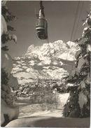 X62 Cortina D'Ampezzo (Belluno) - Funivia Di Faloria Verso Le Tofane - Panorama / Viaggiata 1962 - Altre Città