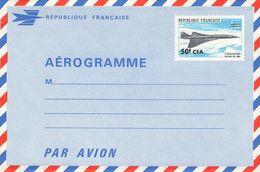 RÉUNION - AEROGRAMME 50 CFA 1960 -NOT USED- - Reunion Island (1852-1975)