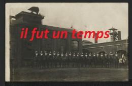 62 LIEVIN - Cpa Photo - Bataillon Pendant Les Grèves   - Guerre 14 / 18 - Lievin