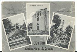 Ostuni -    Santuario S Oronzo Viaggiata 1956 - Brindisi