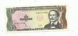 Billet Neuf  , Dominicaine, Republica Dominicana, 1 Peso Oro, UNC , Neuf - República Dominicana
