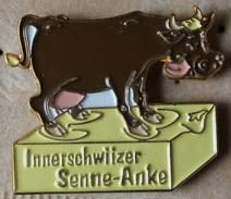 VACHE BRUNE SUR DU BEURRE - INNERSCHWIIZER - SENNE ANKE - BUTTER - SUISSE - SCHWEIZ - SWITZERLAND - KUH - COW-    (18) - Animaux