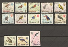 Gambie, Yvert 208/220, Scott 215/227, SG 233/245, MNH - Gambie (1965-...)