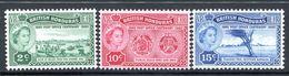 British Honduras 1960 Post Office Centenary Set MNH (SG 191-193) - Brits-Honduras (...-1970)