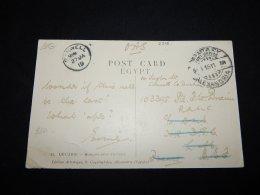 Egypt 1911 O.A.S. Cover To UK__(L-2316) - 1866-1914 Ägypten Khediva