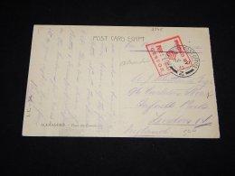 Egypt 1915 O.A.S. Card To UK__(L-2345) - Egypt