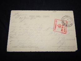 Egypt 1916 O.A.S. Card To UK__(L-2328) - Egypt