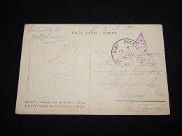 Egypt 1917 O.A.S. Card To UK__(L-2311) - Egypt
