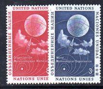 NAZIONI UNITE NEW YORK 1957, Unificato Serie 48/49  ***  MNH. - New York -  VN Hauptquartier