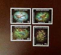 Papua New Guinea 1986 Ameripex Small Birds MNH - Vogels