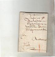 1630 CITO Francois Van Bommel (?) Brussel To Antwerp  (EO1-11A) - 1621-1713 (Spaanse Nederlanden)