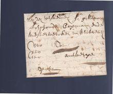 Cito-cito-cito 1660 Brugge To Antwerp (EO1-12) - 1621-1713 (Países Bajos Españoles)