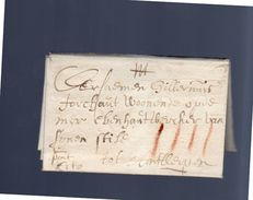1661 Cito To Antwerpen(EO1-17) - 1621-1713 (Spanish Netherlands)