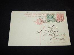 Italy 1919 Double Stationery Card__(L-3280) - Interi Postali