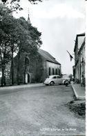 N°56159 -cpsm Rièzes -l'église Et La Place- - Belgique