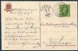 1909 Sweden Stockholm Utstallningen Exhibition Official Postcard. Konstind Utst. - Nybro - Sweden